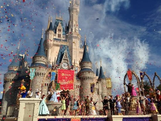 New Fantasyland t magic kingdom opening