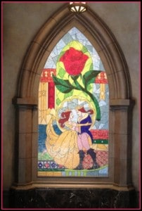 Be Our Guest Mosaic new fantasyland at magic kingdom