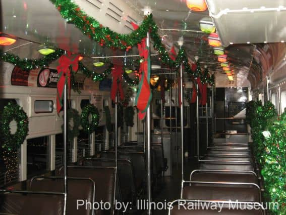 Holiday Train at the Illinois Railway Museum Photo by: Illinois Railway Museum