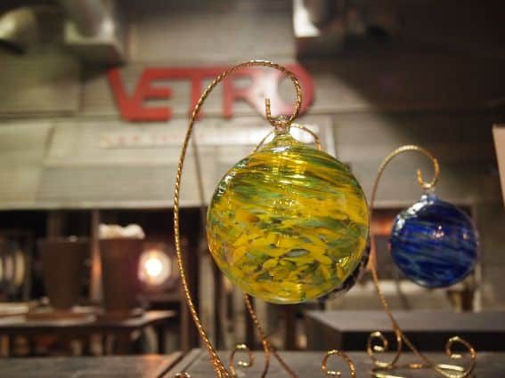 Vetro Glass Blowing holidays in grapevine texas
