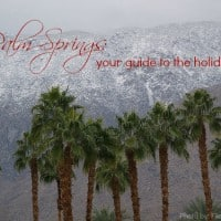 Palm Springs Your Guide to the Holidays