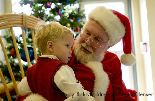 Snack with Santa at the Children's Museum (flickr/childrensmuseumofdenver)
