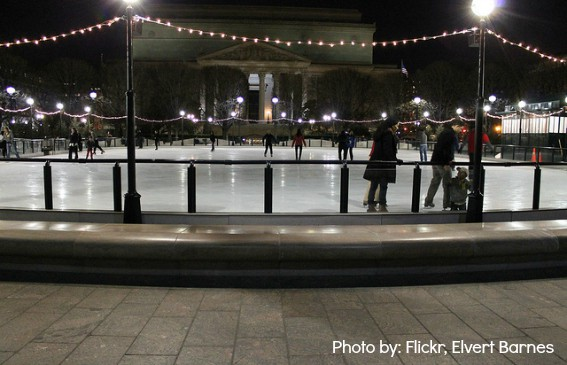 Washington D.C. ice skating