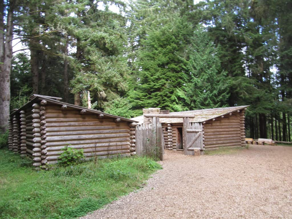 fort clatsop is a great place to visit in Astoria, Oregon with kids