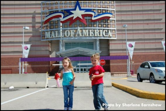 Mall of America with kids