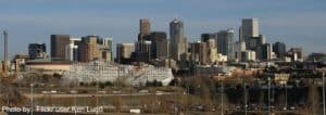 Denver Skyline from Flickr user Ken Lund