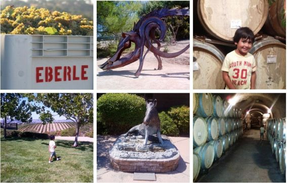 Eberle Winery in Paso Robles, California
