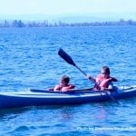 Flathead Lake Lodge Kids canoe