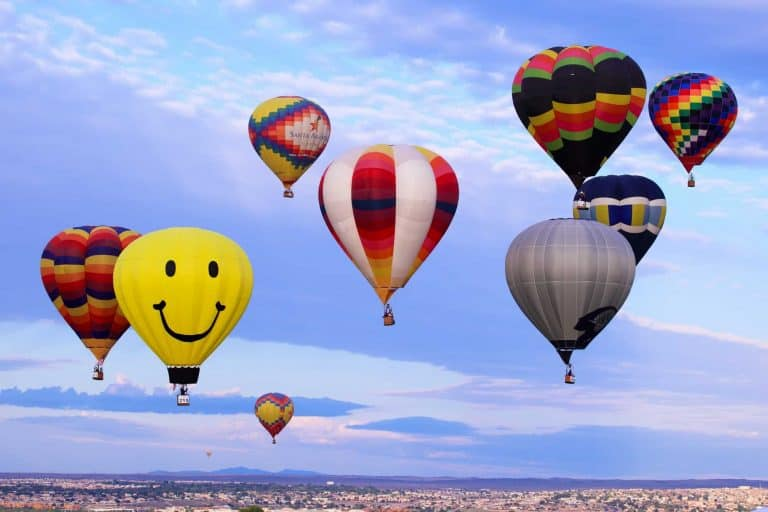things to see in New Mexico hot air balloons