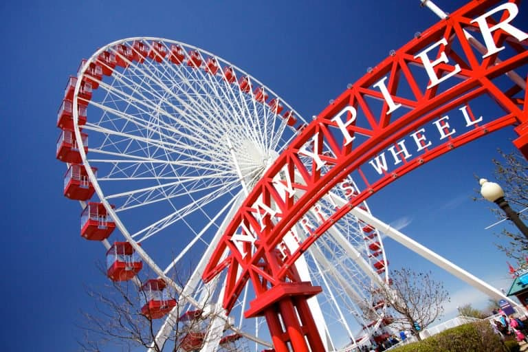 Places to visit in Illinois Navy Pier