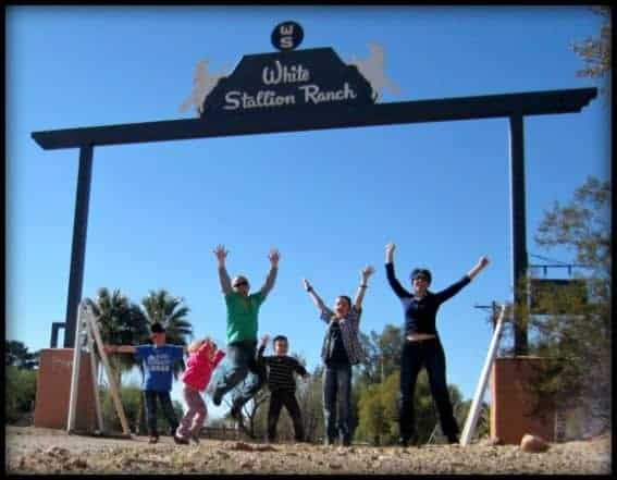 Enjoy Every Opportunity for Family Fun at White Stallion Ranch