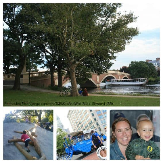 Family Friendly Cambridge: Outdoor Activities near theCharles River Collage