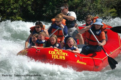 Deschutes River Rafting in Oregon Photo by: Trekaroo/pitstopsforkids