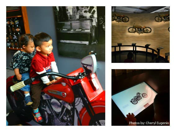 Visiting Milwaukee with kids: Family Fun Harley-Davidson Museum