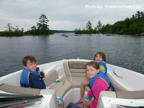 New Hampshire with kids lake
