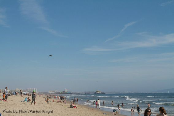 Santa Monica State Beach Family Vacation things to do with kids in Santa Monica