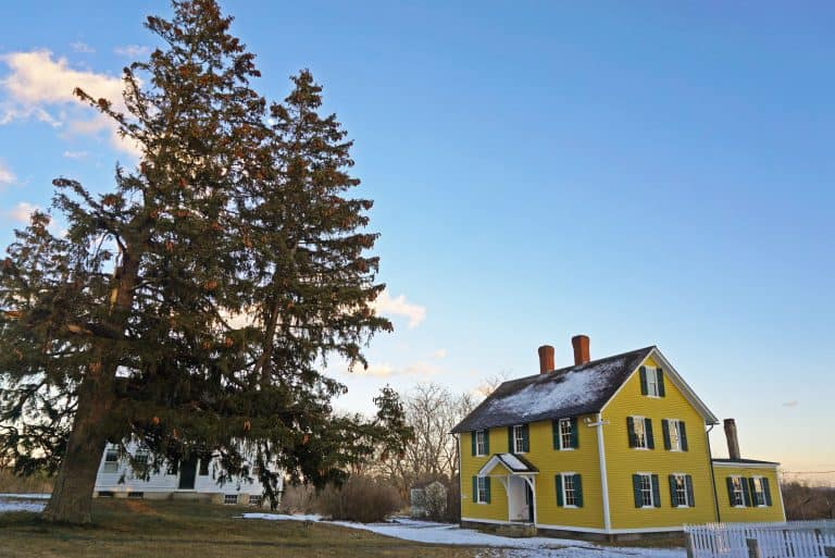 Things to do in New Hampshire- Visit the Canterbury Shaker Village