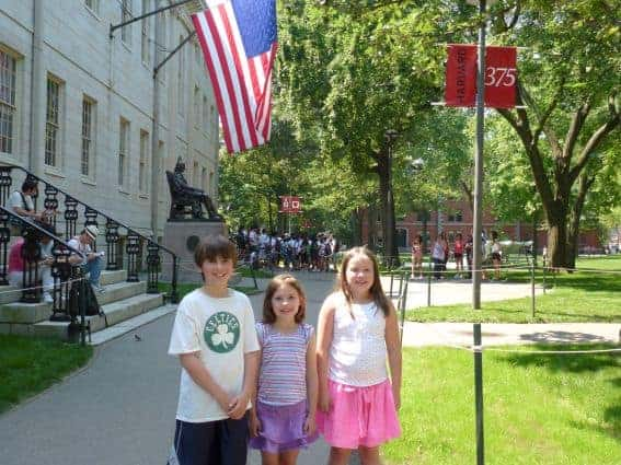 Visiting Harvard Yard