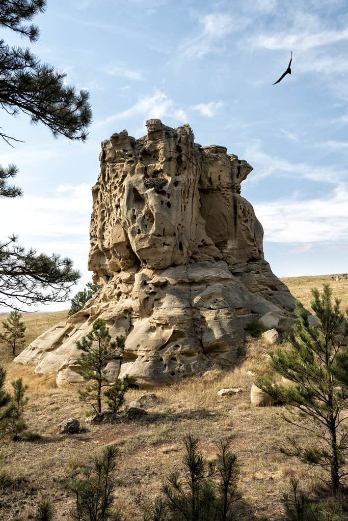 medicine rocks state park is a great place to visit on a Montana Family Vacation