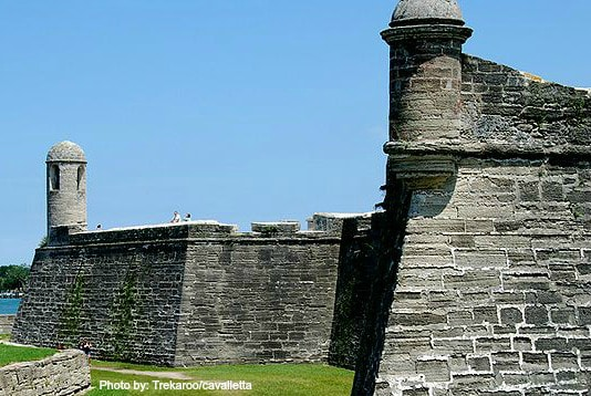 Castillo de San Marcos  Photo by: Trekaroo/cavalletta