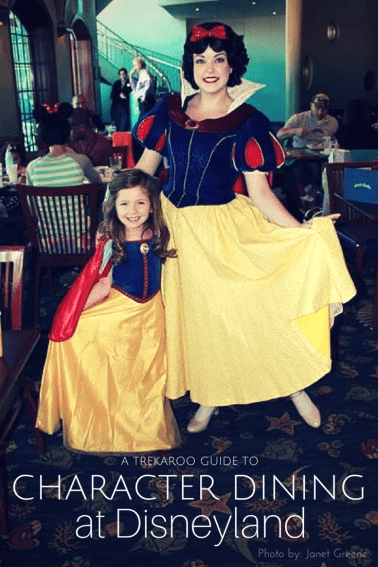 Character Dining at Disneyland