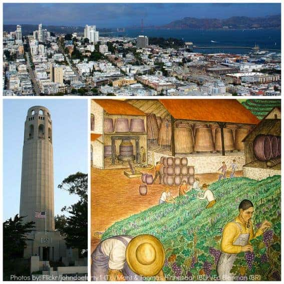 Coit Tower San Francisco Activities