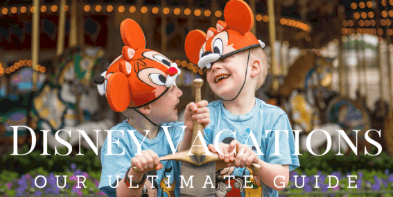 The Ultimate Vacation Guide to Disney Parks for Families with tips on WALT DISNEY WORLD, DISNEYLAND, and other DISNEY RESORTS across the globe. Pin this now to save for later.