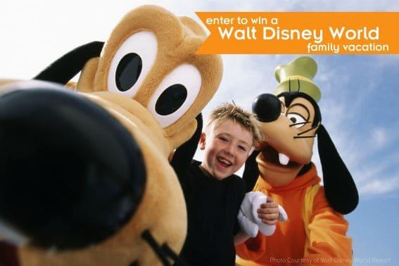 Enter to win a Walt Disney World family vacation