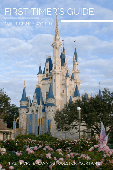 FIRST TIMER'S GUIDE to Walt Disney World
