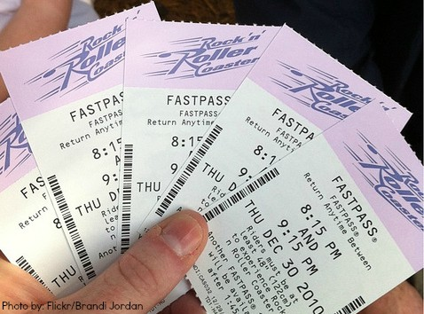 Fastpass photos Skipping the lines at disney