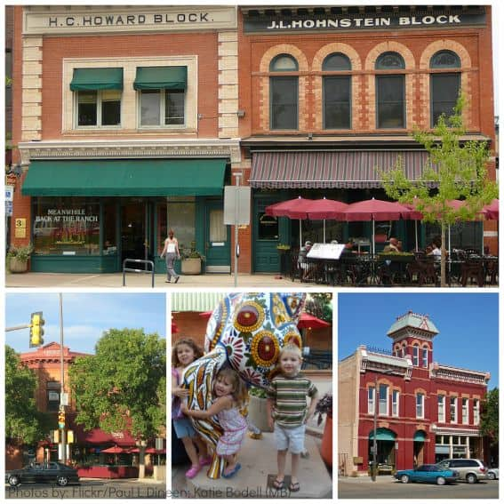 Fort Collins Old Town Collage