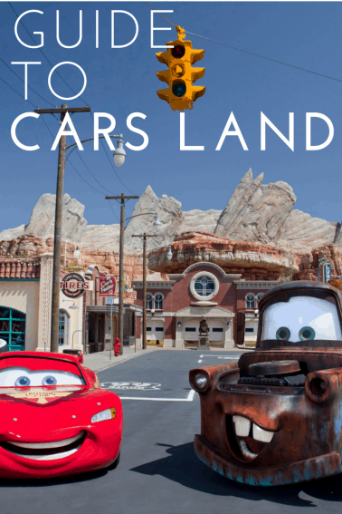 Guide to exploring Cars Land at Disney California Adventure
