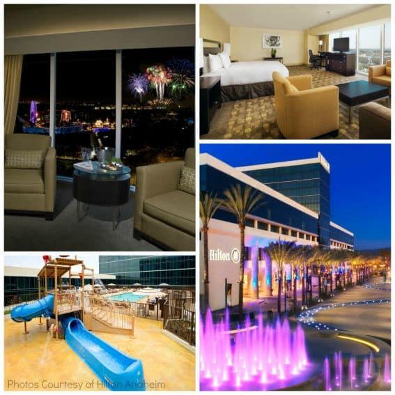 Hilton Anaheim Kid friendly lodging near disneyland