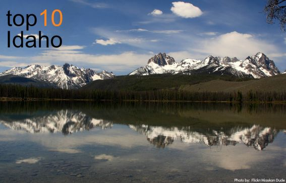 Little Redfish Lake, Idaho Photo by: Flickr/Alaskan Dude