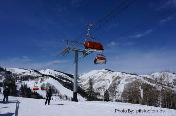 Kid-friendly activities snow skiing Park City, Utah