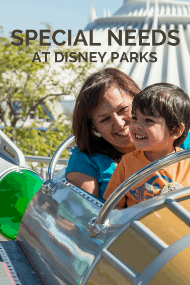 SPECIAL NEEDS at Disney Parks - Visiting Disneyland with a special needs child