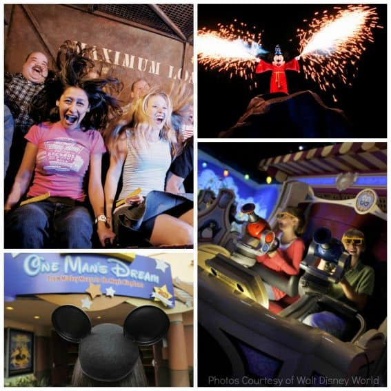 Walt Disney World Hollywood Studios Collage