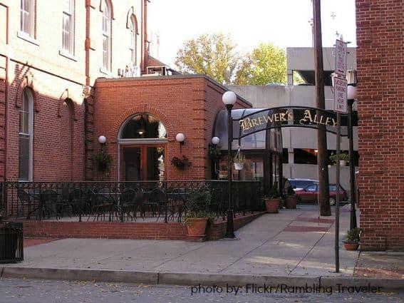Kid-friendly restaurant Frederick, Maryland