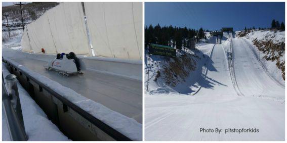 Kid-friendly bobsled Utah Oylmpic park