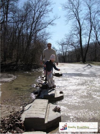 Hiking Ledges State Park top 10 things to do in iowa