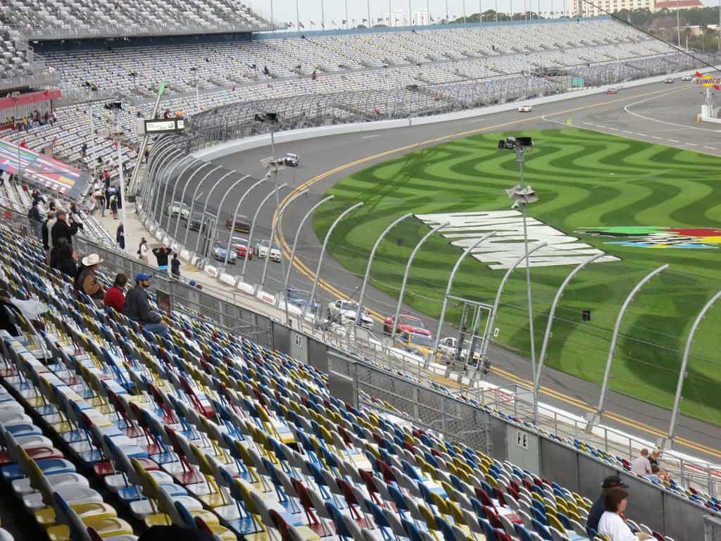 Daytona speedway photo