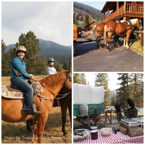 big sky montana with kids Big Sky Dude Ranch Experiences Photo by: Trekaroo/LiLing Pang