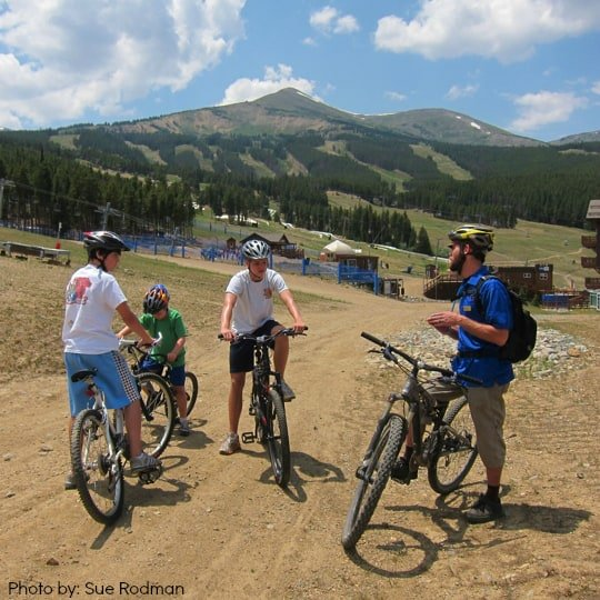 Breckenridge Biking School summer in breckenridge