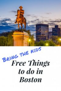 Free things to do in Boston Photo by: bigstock seanpavonephoto