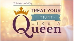 Hilton Anaheim Mother's Day Brunch Queen for a Day