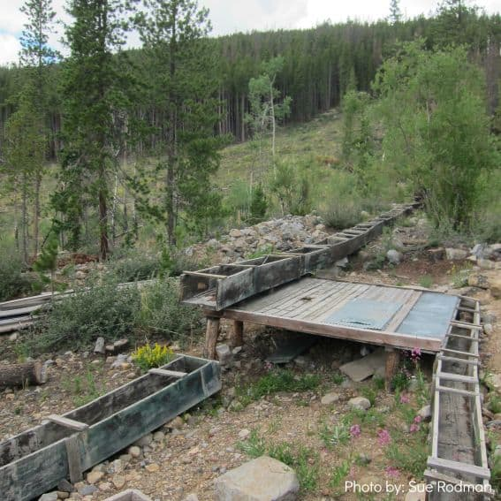 Iowa Mine Hike Find Gold summer in breckenridge