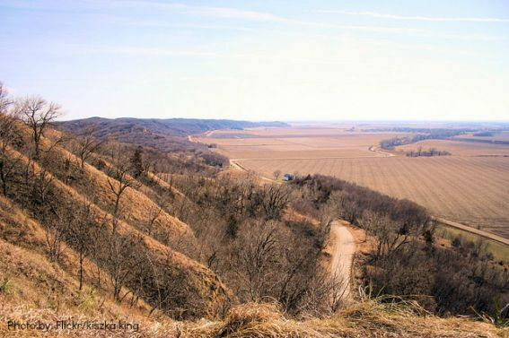 Loess Hills top 10 things to do in iowa