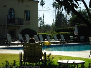 Oaks at Ojai: Relaxing by the Pool