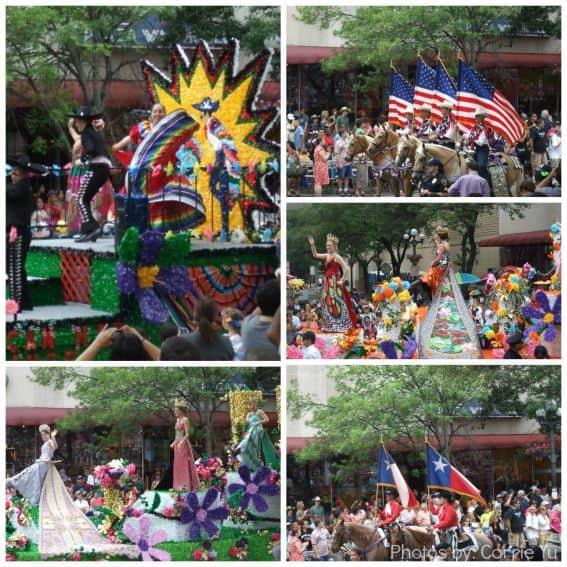 San Antonio Fiesta Parades