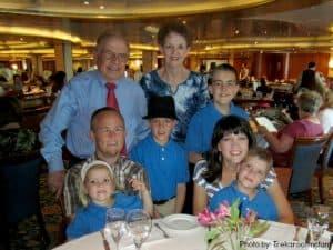 Trekaroo Princess Cruise International Dining Room